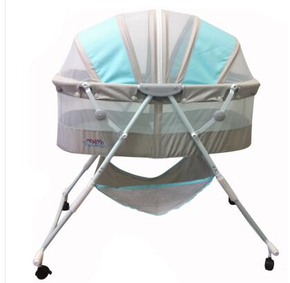 Baby Cradle. Foldable And Portable Children Cradle Roller Bed