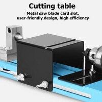 Mini diy 150 w torno de madeira grânulo máquina de corte moagem broca polimento ferramenta para trabalhar madeira dc120