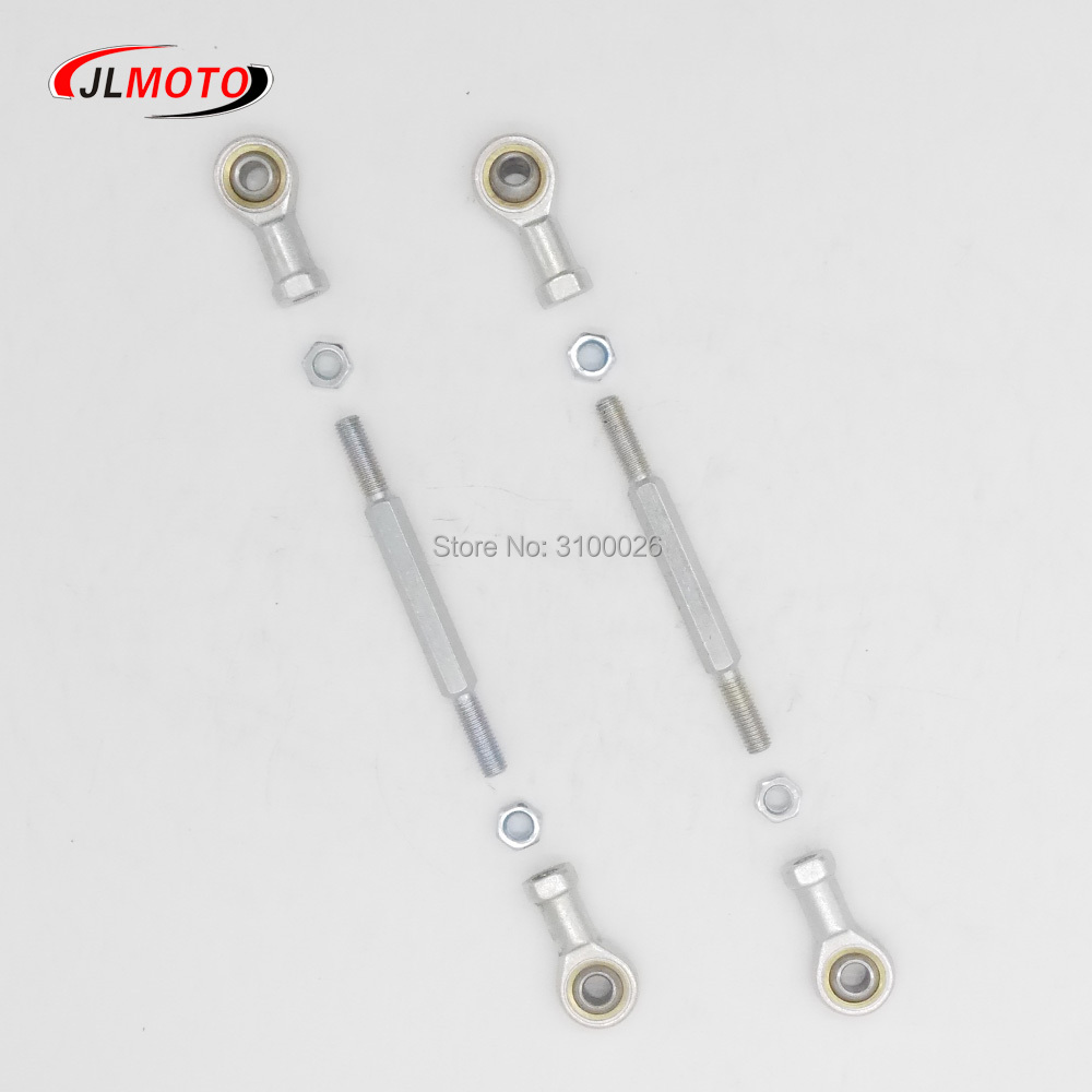 1 Pair/2 Sets 150mm/170mm 8mm Steering Tie Rod kit Ball Joint For 49cc Electric Mini Kids ATV Go Kart Buggy Quad Bike Parts