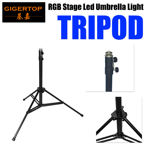 Stage Lighting Effect Tiptop Tripod For Stage Led Umbrella Light Rgb Cmy Color Mixing Height Adjustable Stand Bracket Carton Box Packing For Fast Shipping Commercial Lighting