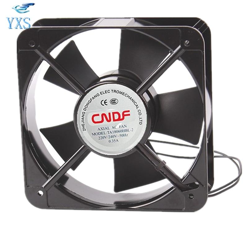TA18060HBL-2 AC 220V/240V 0.35A 18060 18cm 180*180*60mm Axial Cooling FanTA18060HBL-2 AC 220V/240V 0.35A 18060 18cm 180*180*60mm Axial Cooling Fan