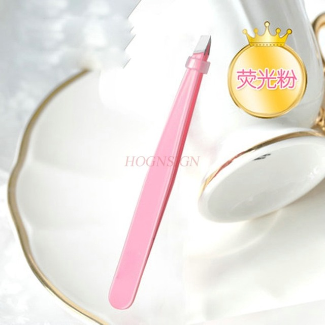 eyebrow tools Stainless steel eyebrow clip eyebrow shaping knife oblique mouth eyebrow clip eyebrow clip beauty makeup tool 2