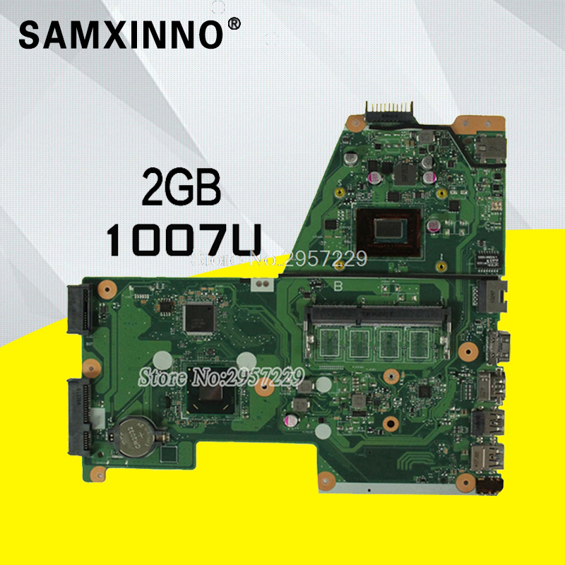 X451CA Motherboard REV:2.0-1007U For ASUS D450C D450CA X451C F451 laptop Motherboard X451CA Mainboard X451CA Motherboard test ok hot for asus x551ca laptop motherboard x551ca mainboard rev2 2 1007u 100% tested new motherboard