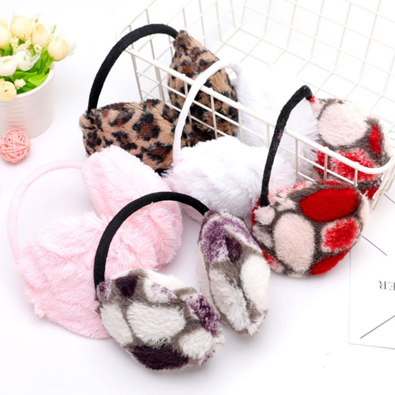 Fresh Strawberry Picture Nature Photograph Winter Earmuffs Ear Warmers Faux Fur Foldable Plush Outdoor Gift