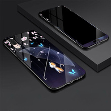 Tempered Glass Case for Huawei P20 Stylish Full Cover with Screen Protection Film P 20