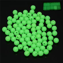 Hot 200pcs/lot Luminous Bait Fishing Lure 8mm 7mm 6mm Corn Artificial Baits Carp Fish Beads Feeder Fishhooks Tackle accessories