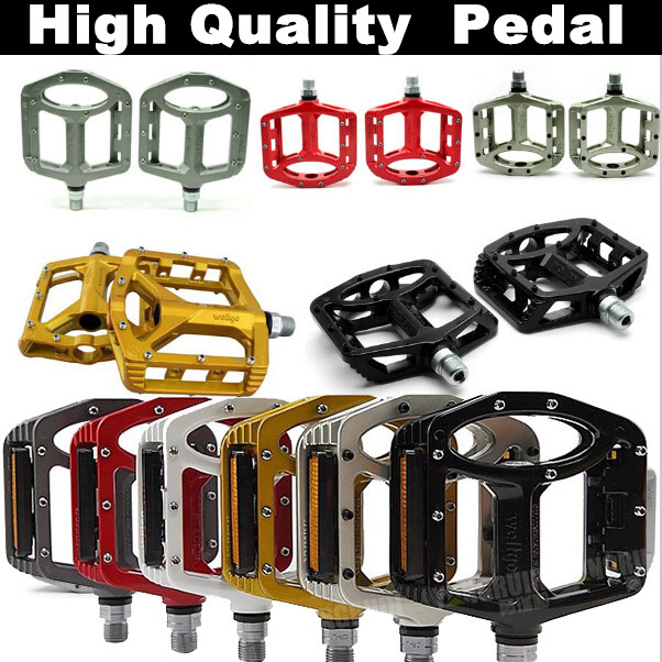 ФОТО light weight High quality Perfect  Wellgo MG1 MG-1 Magnesium Spindle Axle Mountain BMX Bike Platform Pedals MTB bicycle pedals