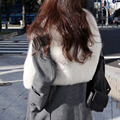 elegant fur vest women casual winter coat Fake Fur Sleeveless Vest Coat VCollar women vest Jacket Outwear free shipping