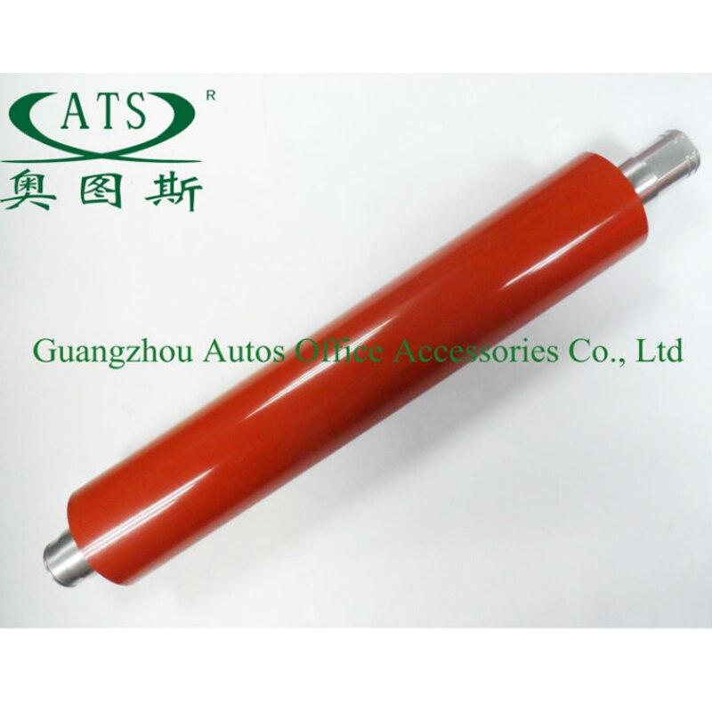 2Pcs Copier part upper roller compatible for DCC1250 1225 1256 heat roller copier upper fuser roller photocopy machine