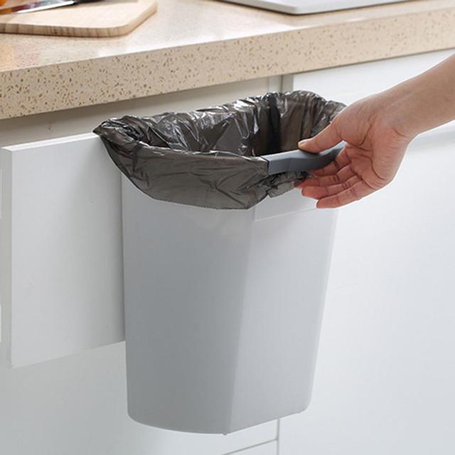 Hängen Mülleimer Küche Schrank Tür Papierkorb Müll Bin Können Container