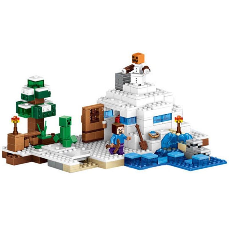 Bela Compatible Legoe Minecrafte Ice My World Zombies Building Blocks - Juguetes de construcción - foto 2