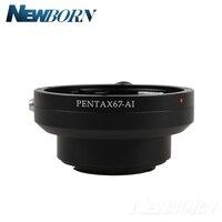 Pentax 67 P67 Lens to For Nikon Mount Camera Adapter D610 D750 D810 D5200 D7000 D60 D80 D90 D300 D700 D4S D610 D750 D810 D5300