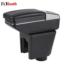 Car Armrest Box Central Store Content Box With Cup Holder Interior Products Car-Styling Accessory For Chevrolet Lova 2006-2010 qcbxyyxh car styling puleather car armrest for hyundai accent 2006 2015 central storage box cover interior with cup holders case