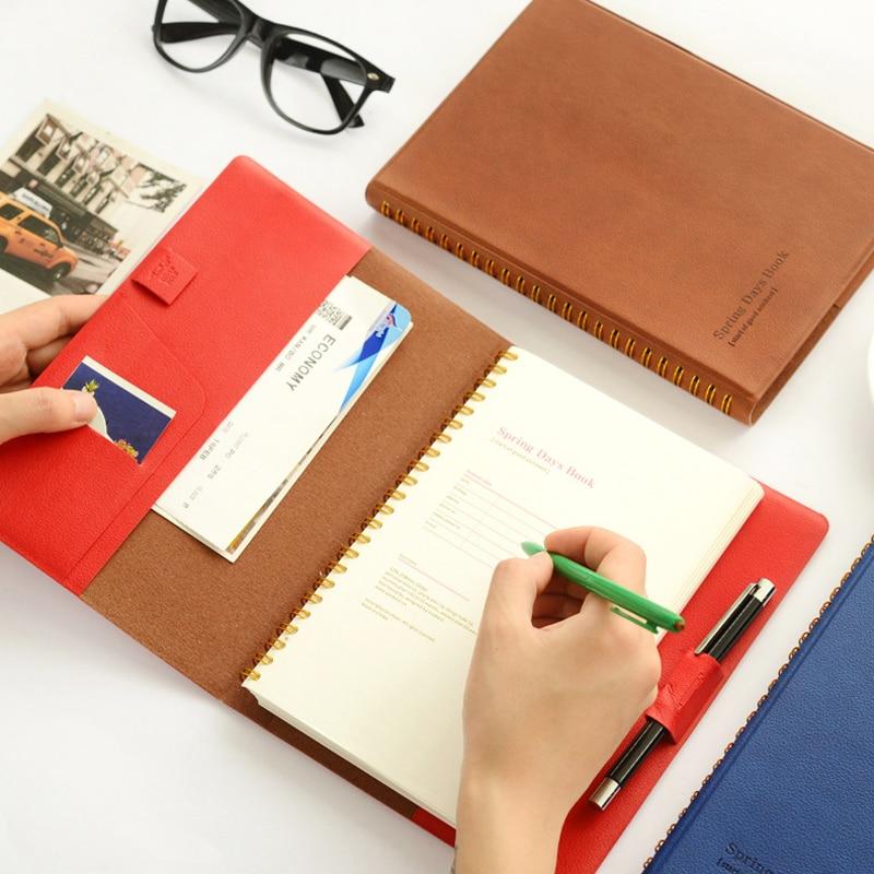 New cute south Korea office school spiral notebook