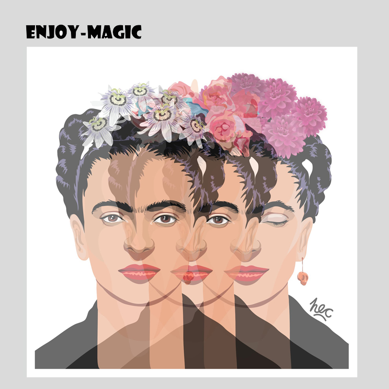 Decoration Home Decor Frida Kahlo Poster Wall Pictures For Living Room Feminist Artwork Canvas
