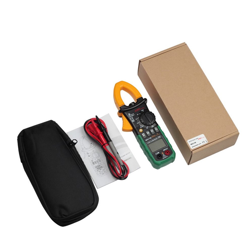 Aimometer MS2108 True RMS Clamp Meter AC/DC Current Voltage Capacitor Resistance Tester 2108