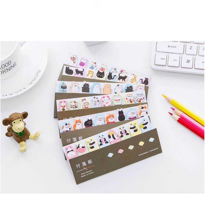 1pcs/Lot animals series post it notes mini decoration label Scrapbook Stickers Sticky Memo Pad school and office