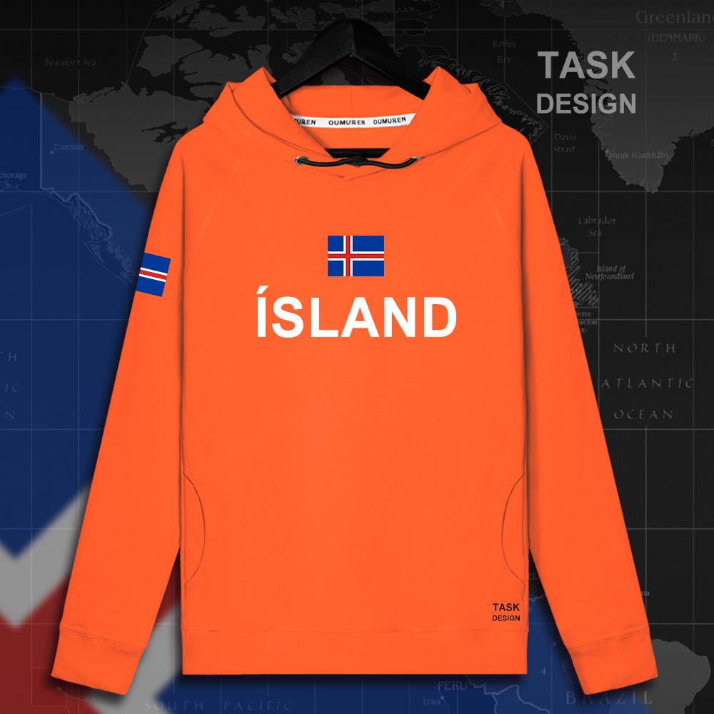 Iceland ISL Icelander Icelandic IS mens hoodie pullovers hoodies men sweatshirt streetwear clothing Sportswear tracksuit new 01