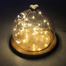 50/70/100 led USB/Battery Operated copper wire String Lights Christmas starry Fairy Lights for Garland/Party/Wedding Decoration