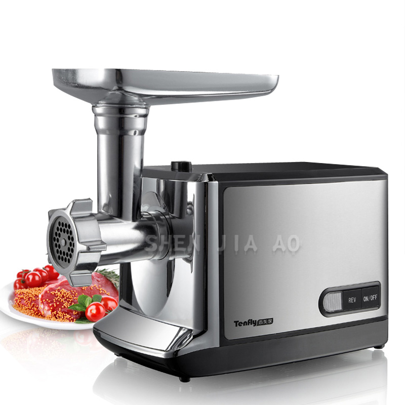 Electric meat grinder 220v 50Hz Stainless steel meat mincer mincing machine meat cutter Multifunction sausage THMGF350A household electric meat grinder stainless steel meat mincer mincing machine meat cutter multifunction sausage thmgf500a
