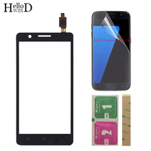 5 Mobile Touch Screen TouchScreen For Lenovo A536 Touch Glass Front Glass Digitizer Panel Lens Sensor + Protector Film 3M Glue