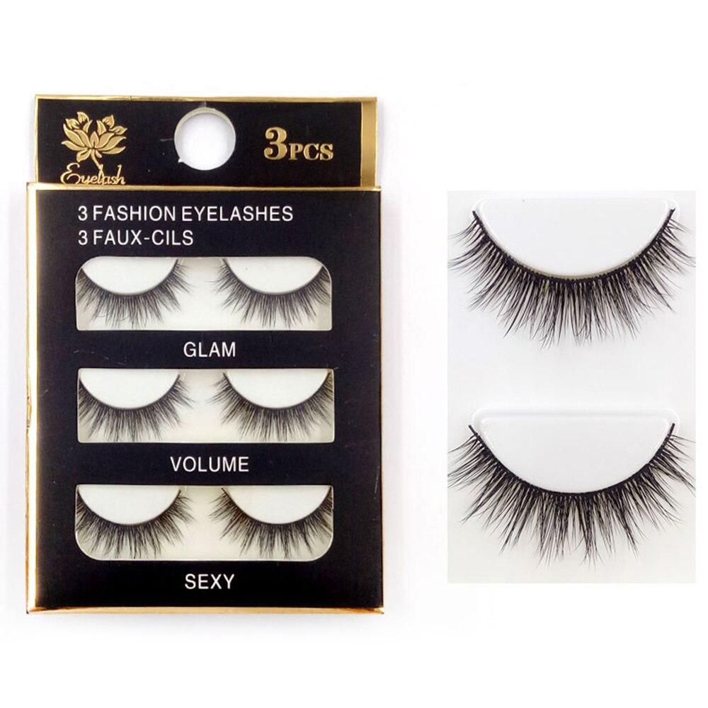 Hot New False eyelashes Professional thick fake lashes