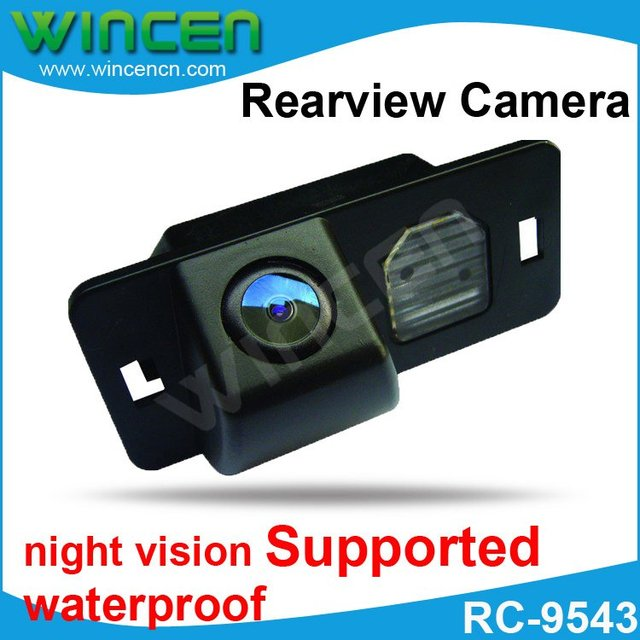 Super High Quality HCCD Rear view Camera for Car DVD player with 170 Degree Lens Angle Night Vision waterproof Free shipping!!!