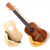 YUEKO Ukulele shelf violin stand uklele small guitar detachable folding vertical stand PVC