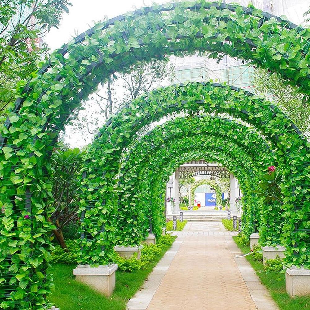 Realistic Ivy Garland Artificial Vine Plant Wedding Indoor Outdoor 12 Pack 84Ft