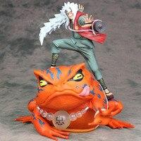 14cm 23cm Japanese anime figure naruto Jiraiya/ Gama Bunta action figure collectible model toys for boys