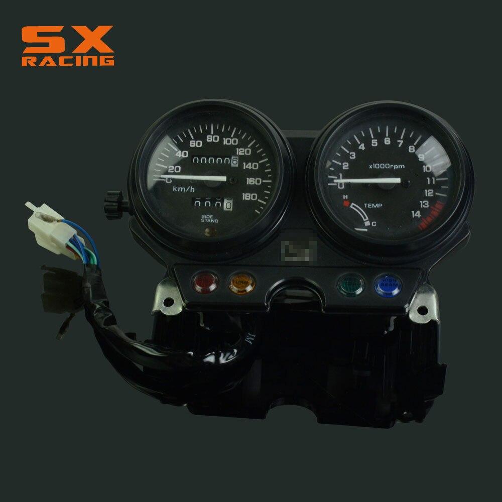 Мотоцикл гонки на мотоциклах спидометра метр колеи тахометр датчики для Honda ЦБ-1 СВ1