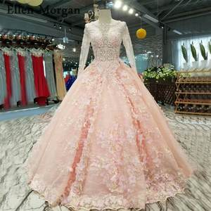 Pink Bridal Gowns