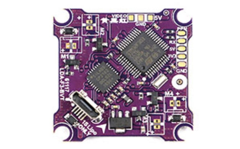 LDARC TINY 6X 7X 8X F3 flight Control Brush ESC Graphic Transmission Integrated Board