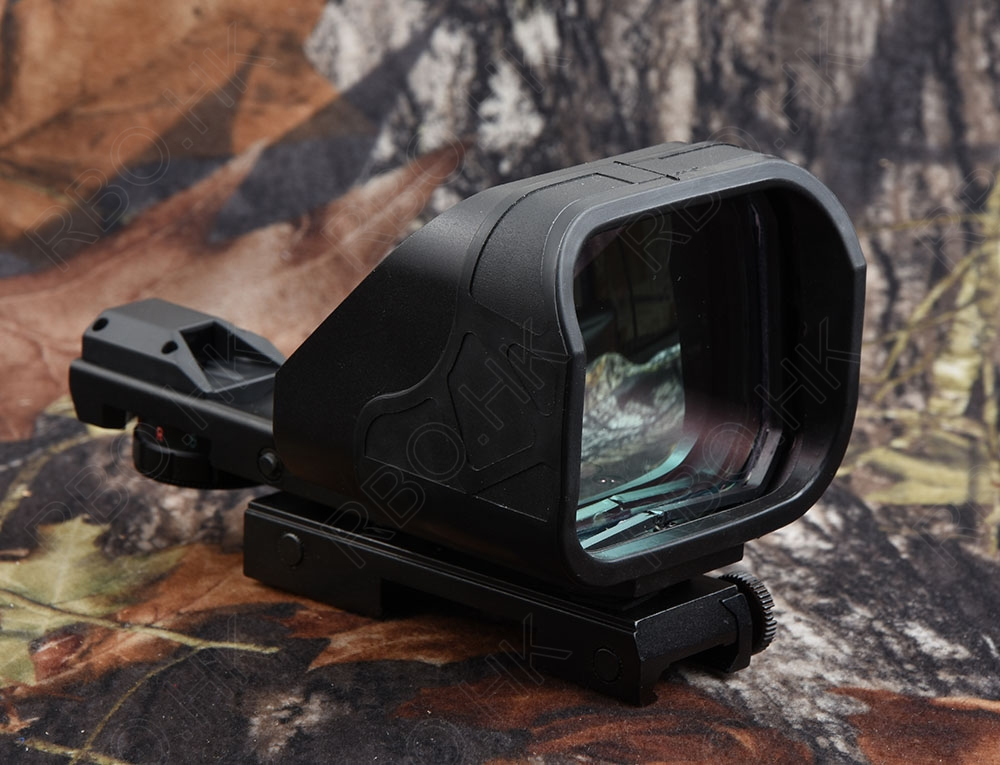 Tactical 1x Green Red Dot Sight Scope Picatinny Rail Mount Aluminum Alloy Cutting Black M8585 1 x 33mm red green light dot bird sight scope for dslr black 1 x cr2032