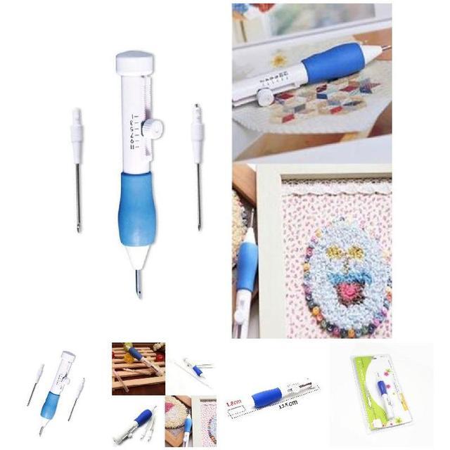DIY Вышивка Magic Вышивка ручка Костюмы удар иглы 1.3/1.6/2.2 мм Диаметр j2y