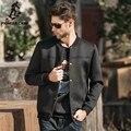 Pioneer Camp 2017 Осень Случайно Куртку Мужчины Пространство Хлопка Зимнее куртки Для Мужчин Тонкий Черный Марка Пальто Куртки Мужчины Верхняя Одежда 622015