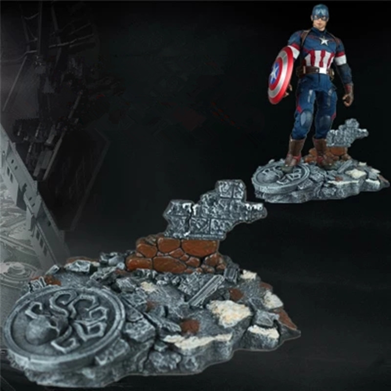 1/6 scale Avengers 12 American captain Base platform action figure Scene model components 1 6 scale figure captain america civil war or avengers ii scarlet witch 12 action figure doll collectible model plastic toy
