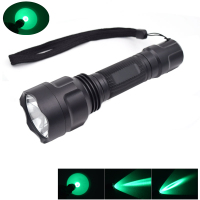 High Quality 1 Mode Hunting Flashlight LED Lamp Torch For Flshing Hunting Remote Pressure Switch