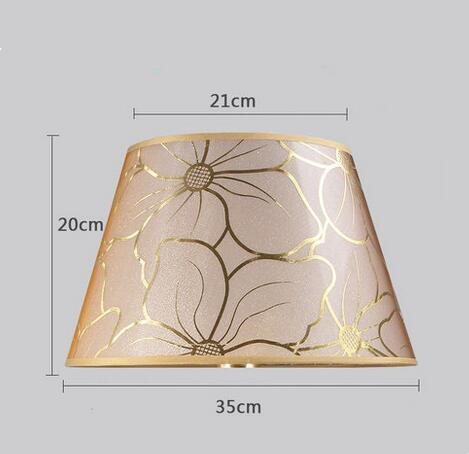 Lamp shade for table Abstract simple style  flower pattern Decorative E27 table lamp shade  bedroom lamp cover Lamp Covers & Shades     - title=