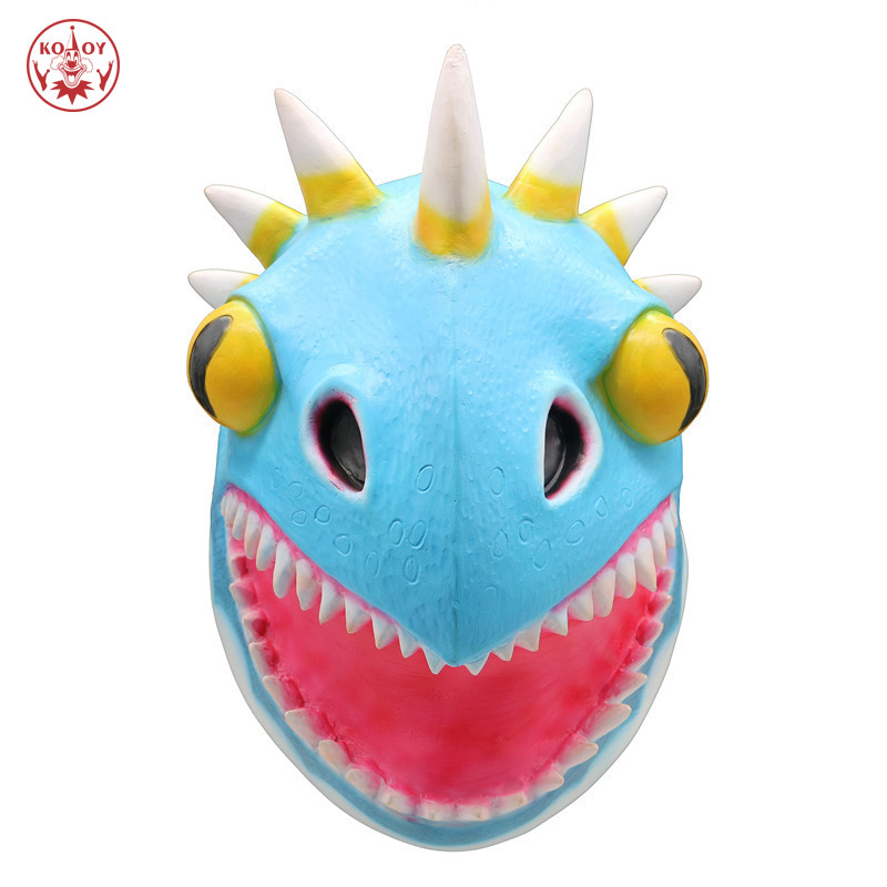 cosplay How To Train Your Dragon cosplay mask Helmet Adult Halloween Party costume The Hidden World Horror dragon latex masks