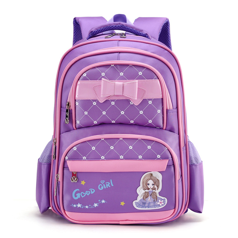 Kids Backpack Children princess caeroon Backpacks for Girls Waterproof School Bags kids Orthopedics Schoolbags mochila infantilKids Backpack Children princess caeroon Backpacks for Girls Waterproof School Bags kids Orthopedics Schoolbags mochila infantil