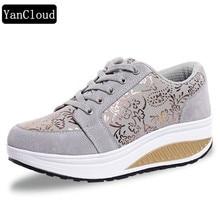 2013 אופנה באביב ובסתיו נוח עור סינתטי עור ספרוט, נעלי הנדנדה של נשים, נעליים בנות צעירות