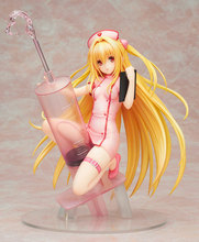 Sexy Girl Anime To Love Ru Darkness Golden Darkness Konjiki No Yami Nurse Ver. 1/7 Scale Action Figure Collectible Model Toy цена