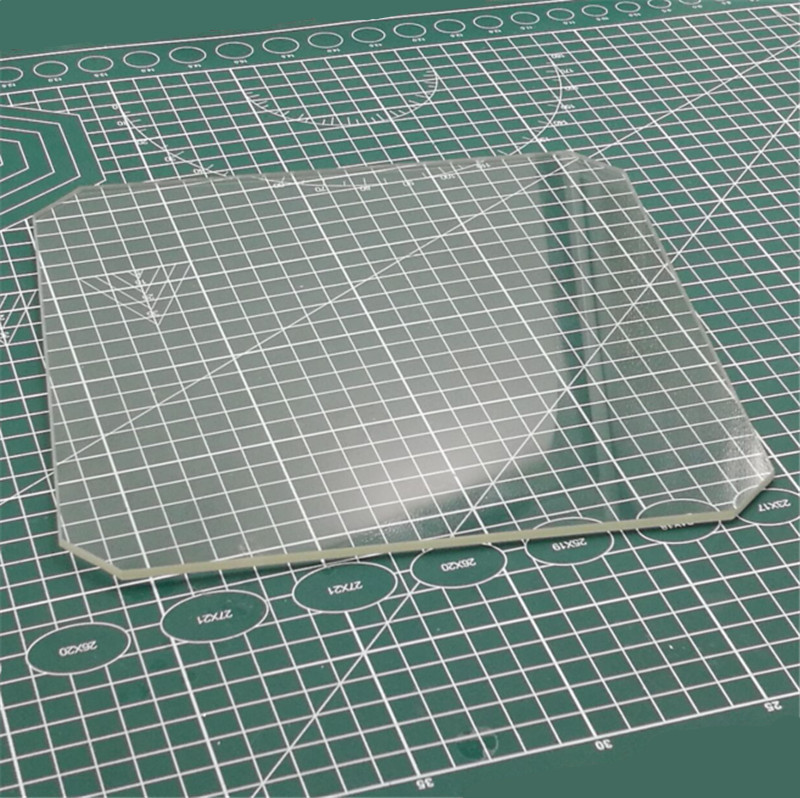 3D Printer Parts  219x219mm Borosilicate Glass Plate For Wanhao Duplicator I3 Anet A8 A6 MP Maker Select 3D Printers