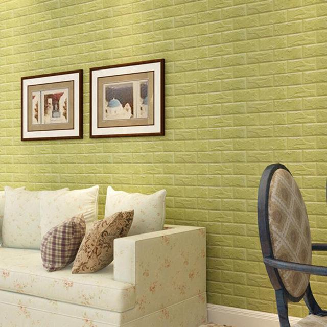 Online Shop 60x30x0.8cm PE Foam Brick 3D Wall Stickers Safty Home ...