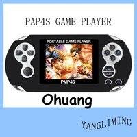 PMP 4S 64 Bits de MP3, MP4. MP5 Control Analógico Mano Consola de Juegos con 400 Juegos, 3