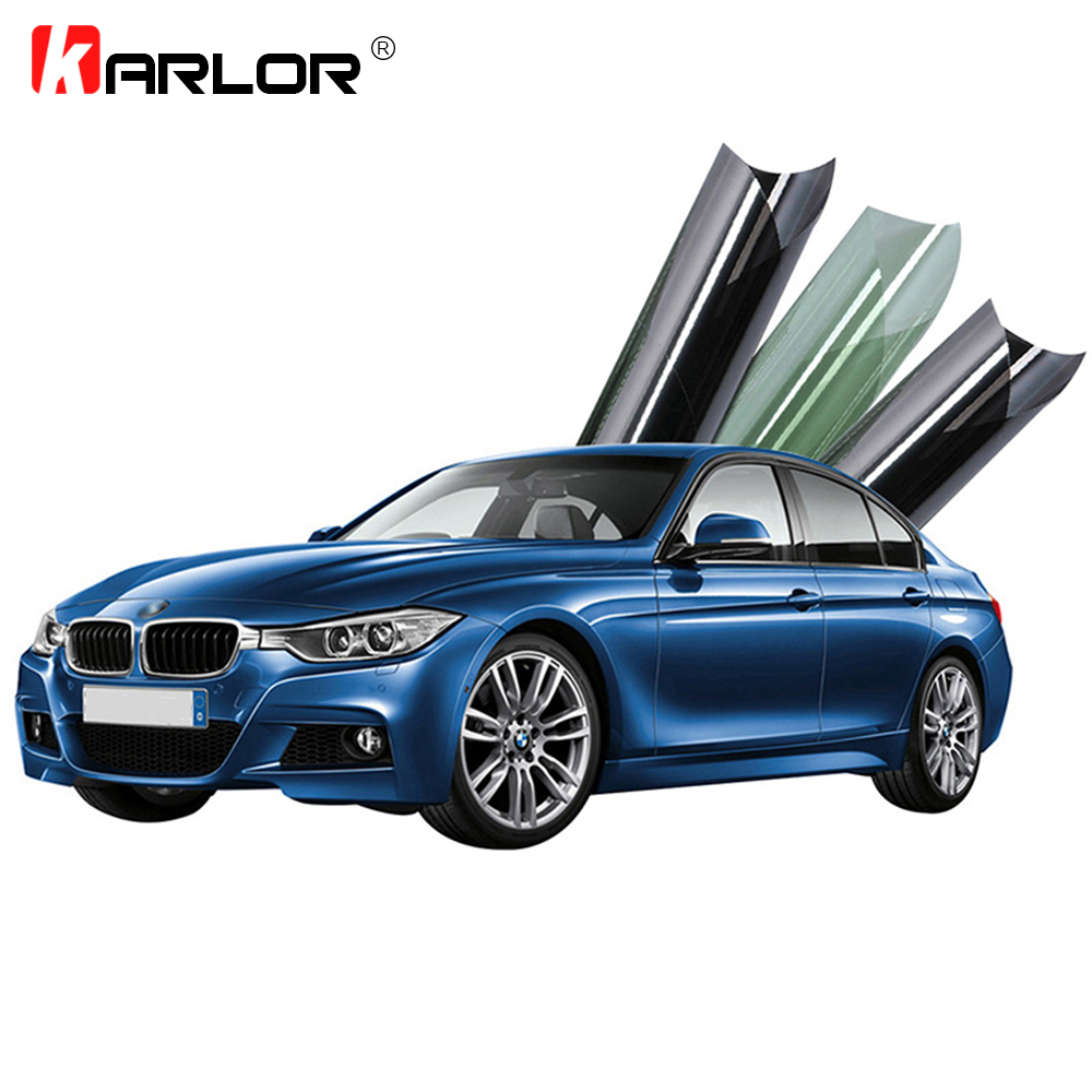 Universal Car Windows Front Windshield Solar Protection Heat Insulating Sun Control 99% UV Reduction Foils Tint Film HD Vision
