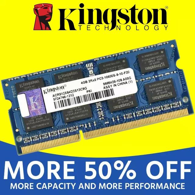 Оперативная память для ноутбука Kingston, модуль памяти DDR2 800 667 МГц PC2 6400S 1 Гб 2 Гб 2 Гб 4 ГБ 4 ГБ 8 ГБ DDR3 1333 1600 МГц