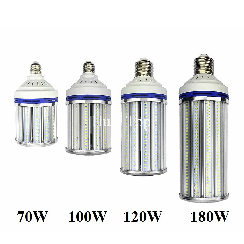 E27 E40 Street lighting 70W 100W 120W 180W Corn Lamp E26 E39 LED Bulb Ligh for industrial high bay Warehouse Engineer Spotlight