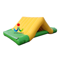 Amusement park water play equipment inflatable small slide for sale